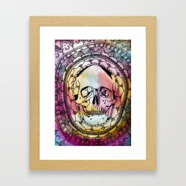 Kalediscope Nightmare Framed Art Print