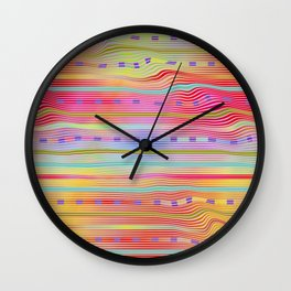 Play with stripes  14 Wall Clock