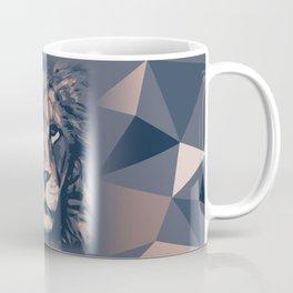 Face to Lion Coffee Mug