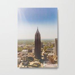 Atlanta Pencil Building Metal Print