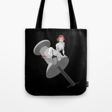 PIN UP RED Tote Bag