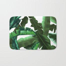tropical banana leaves pattern 2 Bath Mat