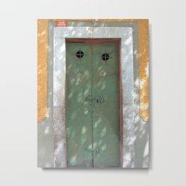 Door No. 1 in Guanajuato, Mexico (2005) Metal Print