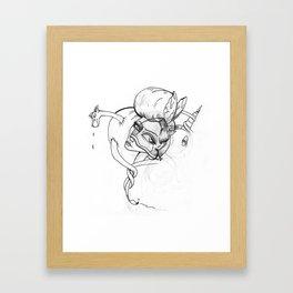 Warfare Framed Art Print
