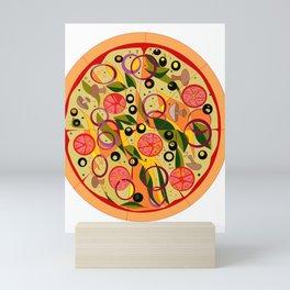 A Veggie Pizza, my Favorite Mini Art Print