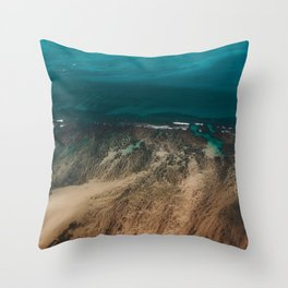 Hawaiian Sea Throw Pillow