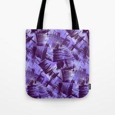Purple Paint Strokes Tote Bag