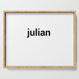 julian Serving Tray