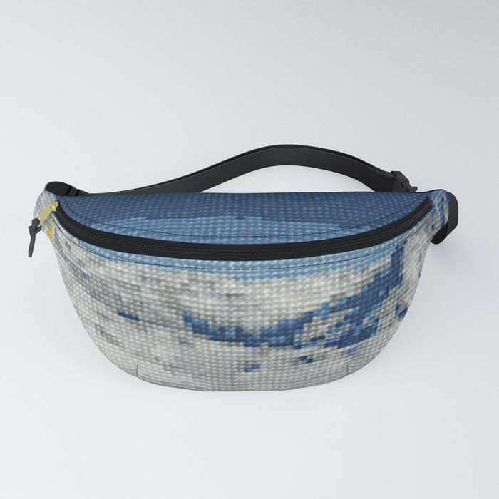 Cross Stitch Skiing Fanny Pack