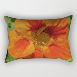 Glorious Nasturtium Rectangular Pillow