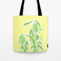 avocado Tote Bags featuring Avocado by Maria Nordtveit