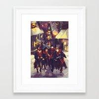 viria Framed Art Prints featuring marauders by viria