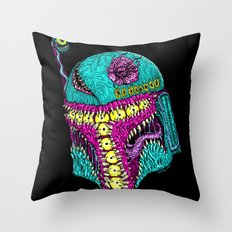 Monster Fett Throw Pillow
