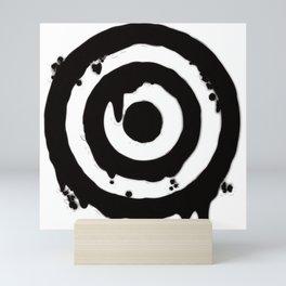 Bull's_Eye Mini Art Print