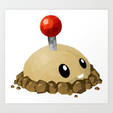 Potato Mine Art Print