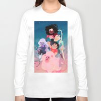 steven universe Long Sleeve T-shirts featuring Steven Universe by Taylor Barron