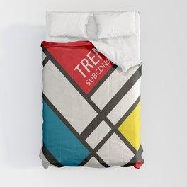 Mondrian De Stijl Comforters