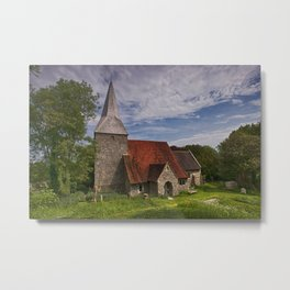 St Michael And All Angels Berwick Metal Print