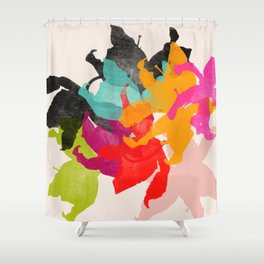 lily 3 Shower Curtain