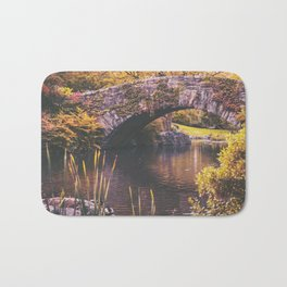 New York City Autumn Bath Mat