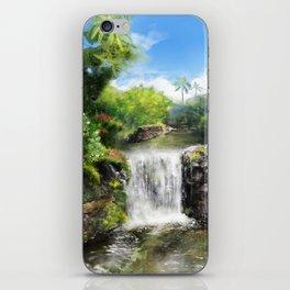 Hawaiian  Garden iPhone Skin