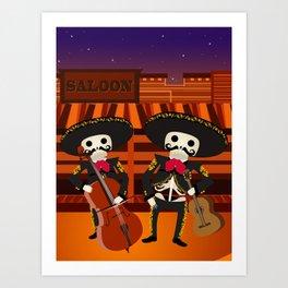 Mexico Mariachi Art Print