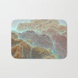 Coral Mountains Bath Mat