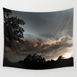 Ominous Storm Wall Tapestry