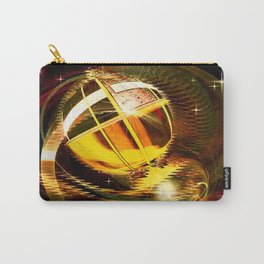 Golden celestial globe. Carry-All Pouch