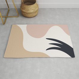 Abstract art composition Rug