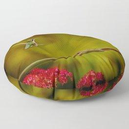 Natures Twitter War Floor Pillow