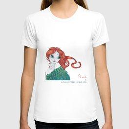 Si j'étais un oiseau by au cabaret des oiseaux-Zoé Crevette T-shirt