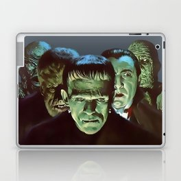 Famous Monsters Gang Laptop & iPad Skin
