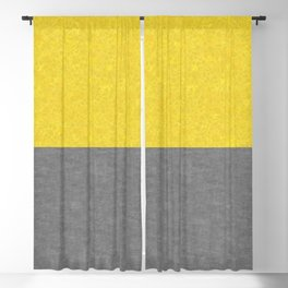 Caesarstone Marble and Concrete - Pantone Colors Of The Year 2021 Blackout Curtain