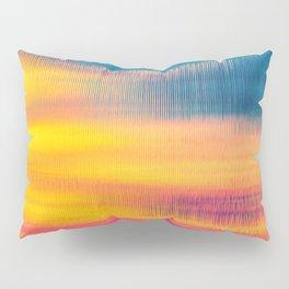 Glitch Glow Pillow Sham