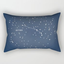 ARIES - Astronomy Astrology Constellation Rectangular Pillow