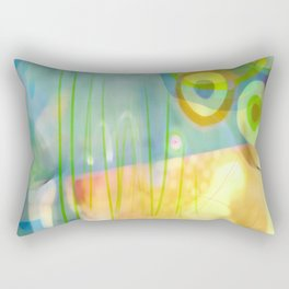 Dappled Grasses Rectangular Pillow