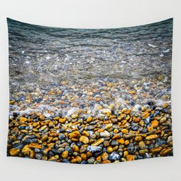 At the water's edge Wall Tapestry