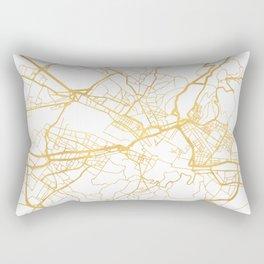 FLORENCE ITALY CITY STREET MAP ART Rectangular Pillow