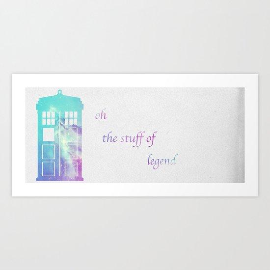 doctor? Art Print
