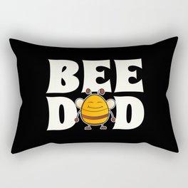 Bee Dad Rectangular Pillow