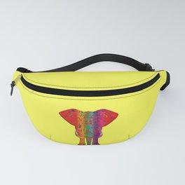 Rainbow Ganesha (Yelow Background) Fanny Pack
