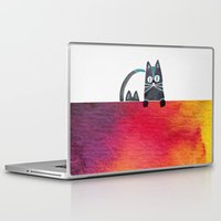 cats Laptop & iPad Skins featuring Cats by Cat Coquillette