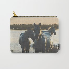 Camargue Horses III ... Carry-All Pouch