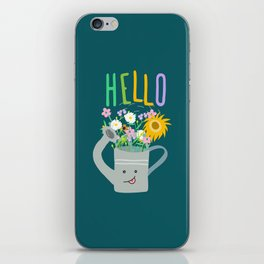 Happy Day- Watering Can iPhone Skin