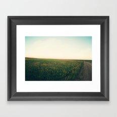 Country Roads (Rural South Dakota) Framed Art Print
