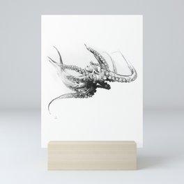 Octopus Rubescens Mini Art Print