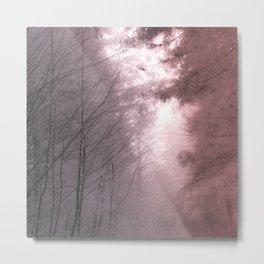 Mystical Tree Path Metal Print