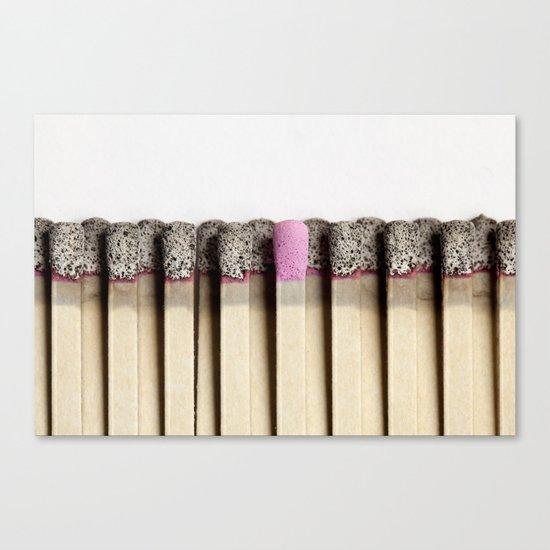 Odd match out Canvas Print