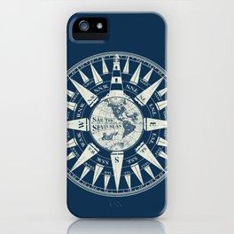 Sailors Compass iPhone Case
